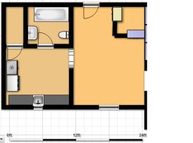 21 #3 Floor plan